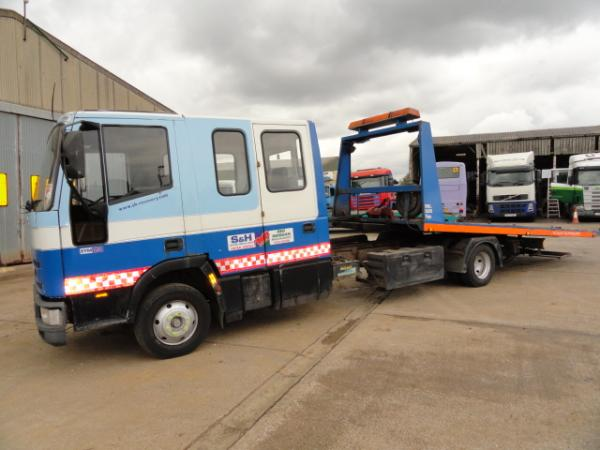 IVECO 75E15 TILT and SLIDE recovery