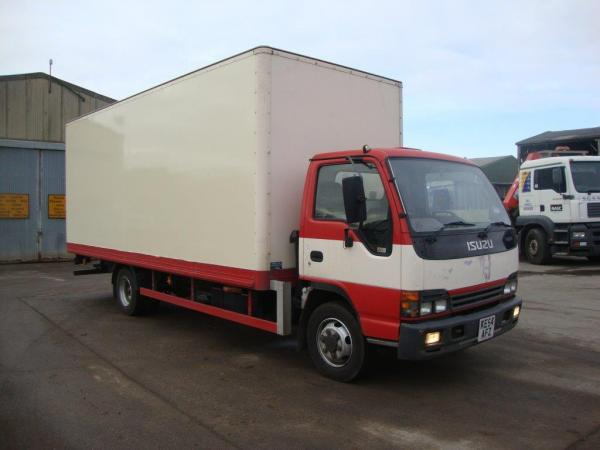 ISUZU NQR BOX BODY