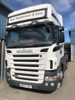 SCANIA R420 6x2 MANUAL GEARBOX